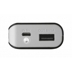 TRUST Primo Powerbank 5200 Portable Charger - black