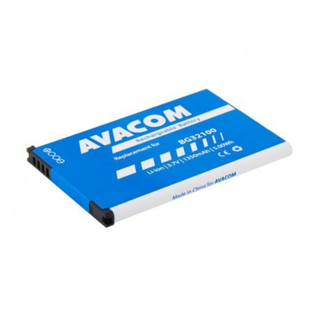 Baterie do mobilu HTC Desire Z Li-Ion 3,7V 1350mAh (náhrada BG32100)