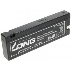 Long WP1223A 12V 2.1Ah 25.2Wh olověný akumulátor pro profesionální videokamery a defibrilátory