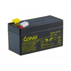 Long 12V 1,2Ah olověný akumulátor F1
