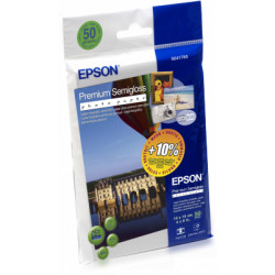 EPSON Premium Semigloss Photo Paper,100x150 mm,50x