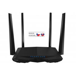 Tenda AC6 Wireless AC Router 1200Mb/s, VPN, 4x5dBi