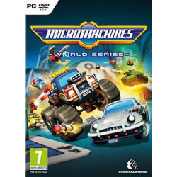 PC CD - Micro Machines World Series