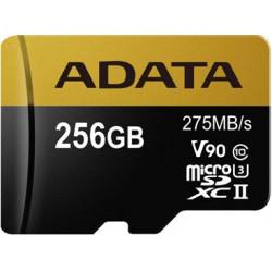 ADATA 256GB MicroSDXC UHS-I U3 s adapterem