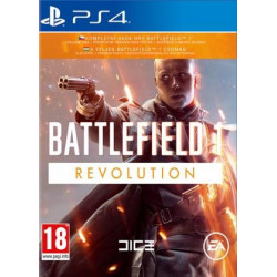 PS4 - BATTLEFIELD 1 REVOLUTION EDITION 25.8