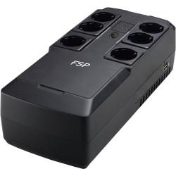 FSP/Fortron UPS NanoFit 600, 600 VA, 2xUSB power, LED, offline