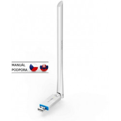Tenda U2 Wireless-N USB Adapter, 150 Mb/s, 802.11 b/g/n, 6 dBi, režimy Client, Soft AP,Win,Mac,Linux