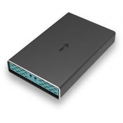 i-tec USB-C/USB-A 2x M.2 SATA RAID Ext. case