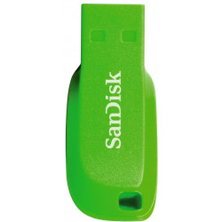 SanDisk Cruzer Blade 32GB USB2.0 elektricky zelená