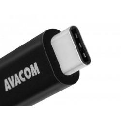 AVACOM TPC-100K kabel USB - USB Type-C, 100cm, černá
