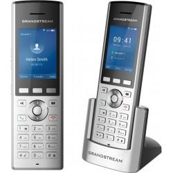 "Grandstream WP820 WiFi IP tel., 2,4"" bar. displ., 2SIP úč., video, BT, Micro USB, roaming hovoru"