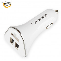 WE auto adaptér 3x USB 5V 5200mA Blister White