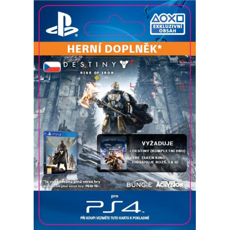 ESD SK PS4 - Destiny: Rise of Iron
