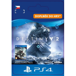 ESD CZ PS4 - Destiny 2 - Expansion II: Warmind 8.5