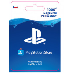 ESD CZ - PlayStation Store el. peněženka - 1000 Kč