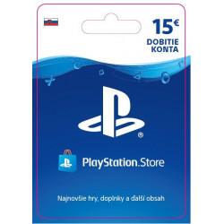 ESD SK - PS Store el. peněženka - 15 EUR