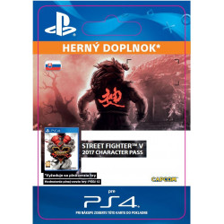 ESD SK PS4 -Street Fighter V - Character Pass 2017