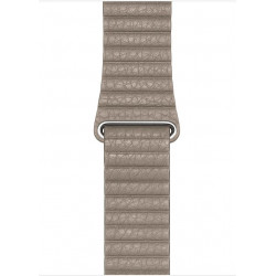Watch Acc/44/Stone Leather Loop - L