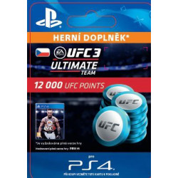ESD CZ PS4 - EA SPORTS™ UFC® 3 - 12000 UFC POINTS