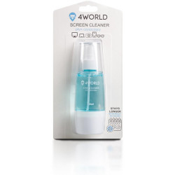 4World Čistící Gel 150ml + hadřík BLUE