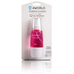 4World Čistící Gel 150ml + hadřík PINK