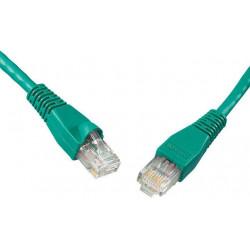 SOLARIX patch kabel CAT6 UTP PVC 2m zelený