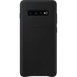 Samsung Leather Cover S10+ Black