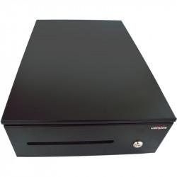 Pokladní zásuvka SK-325C - s kabelem, pořadač 6/8, 9-24V, černá