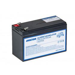 Náhradní baterie (olověný akumulátor) 12V 9Ah do vozítka Peg Pérego F2
