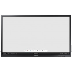 "75"" LED Samsung QB75N-W - UHD,350cd,MI,16/7,touch"