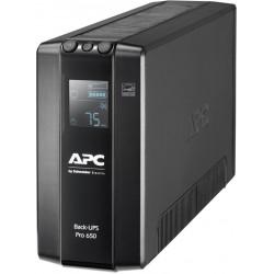 APC Back UPS Pro BR 650VA, 6 Outlets, AVR, LCD Interface