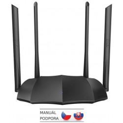 Tenda AC8 WiFi AC Gigabit Router 1200Mb/s, 1x GWAN, 3x GLAN, 4x 6dBi antény, WISP, Uni.Repeater, APP