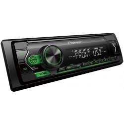 Pioneer autorádio s USB zelené