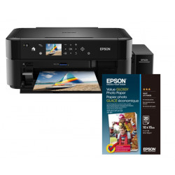 EPSON L850, A4, 5 ppm, 6 ink ITS + 100x Fotopapír