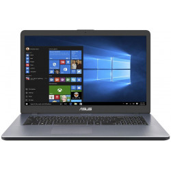 "ASUS X705UA - 17,3"" TN HD+/i3-8130U/4G/256GB M.2 SSD/W10 (Grey)"