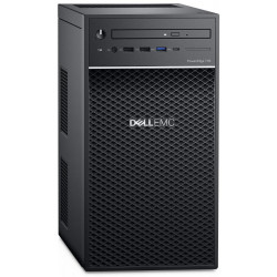 Dell T40 E-2224G/8G/2x1TB SATA/DVDRW/1xGLAN/3RNBD