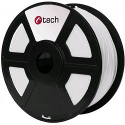 PETG WHITE bílá C-TECH, 1,75mm, 1kg