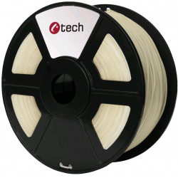PETG TRANSPARENT transparentní C-TECH, 1,75mm, 1kg