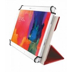 """TRUST Aexxo Universal Folio Case for 10.1"""" tablets - red"""
