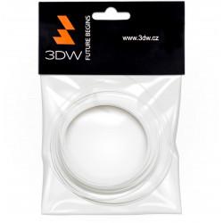 3DW - PLA filament 1,75mm bílá, 10m, tisk 190-210°C