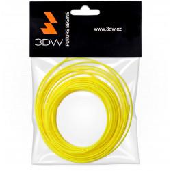 3DW - HiPS filament 1,75mm žlutá, 10m, tisk 200-230°C