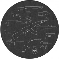 Ochranná rohož pod křeslo Genesis Tellur 300 Arsenal Of Gamer, 100 cm