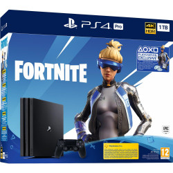 PS4 Pro - Playstation 4 Pro 1TB G/EAS + Fortnite 2 000 V Bucks