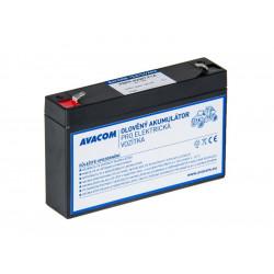 Náhradní baterie (olověný akumulátor) 6V 7Ah do vozítka Peg Pérego F1