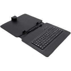 "AIREN AiTab Leather Case 3 with USB Keyboard 9,7"" BLACK (CZ/SK/DE/UK/US.. layout)"