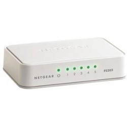 NETGEAR 5x10/100, Desktop Switch, FS205