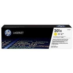 HP 201X tisková kazeta žlutá velká, CF402X