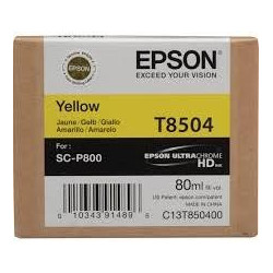 Epson Singlepack Photo Yellow T850400 UltraChrome HD ink 80ml