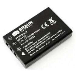 BRAUN akumulátor - FUJI NP-120 a další...