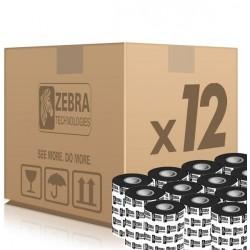 Zebra páska 2300 Wax. šířka 64mm. délka 74m